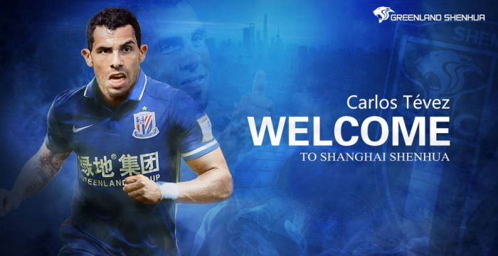 carlos tevez shangai china