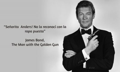 Roger Moore, James Bond frases
