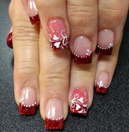 Increíbles Diseños De Uñas Para Que Luzcas En San Valentín