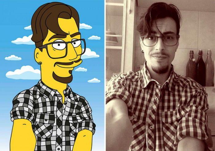 Quieres Verte Como Un Personaje De Los Simpsons Bocalista