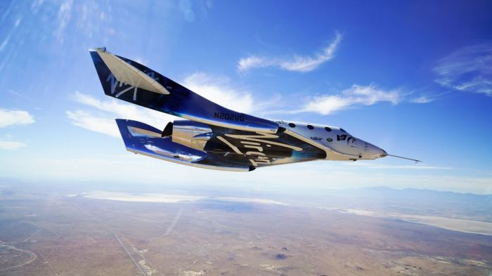 Así serán los trajes espaciales para los vuelos de Virgin Galactic