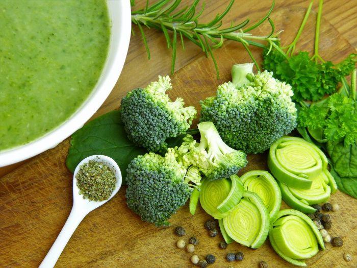 El brócoli aporta calcio y otros nutrientes