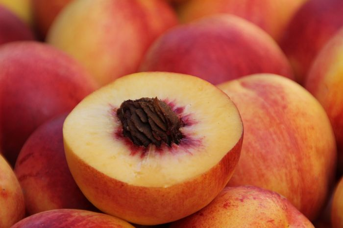 Los melocotones son una gran fuente de vitamina A