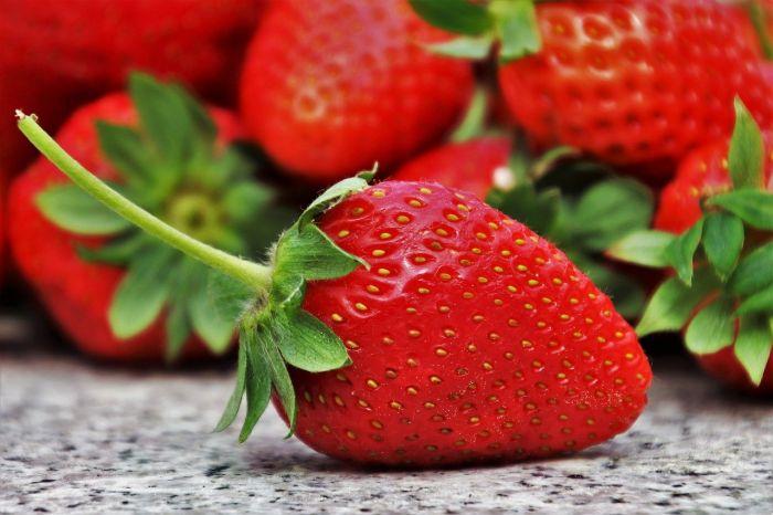 Las fresas son de bajo índice glucémico